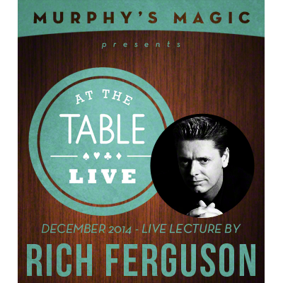 At the Table Live Lecture - Rich Ferguson 12/17/2014 - video DOWNLOAD