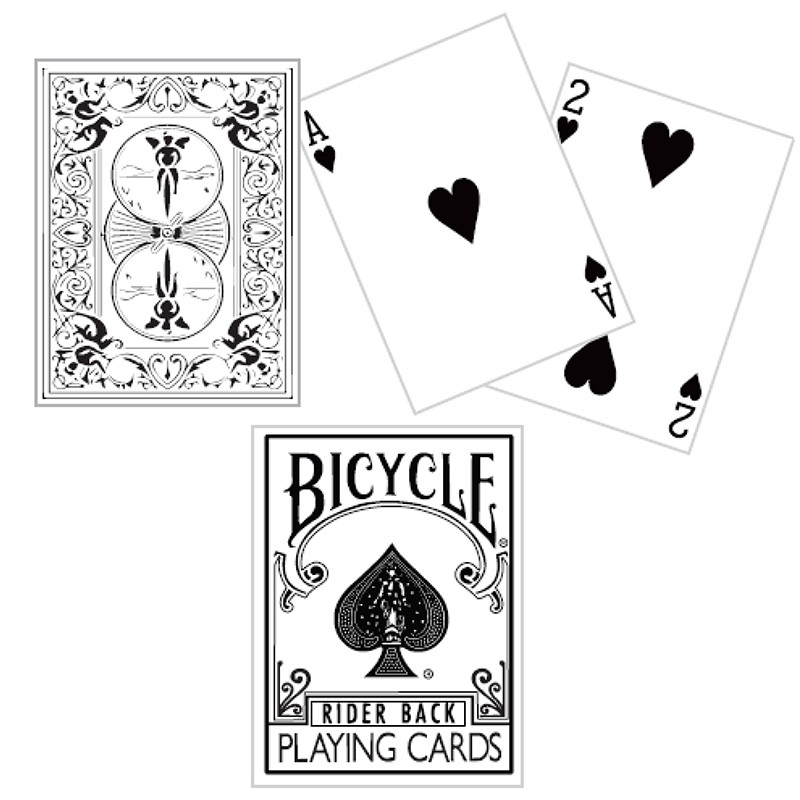 Bicycle White Playing Cards