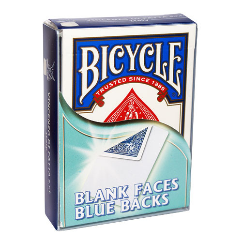 Bicycle Blank Faces/Blue Backs