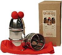 Cups & Balls w/Chop Cup Alum.Combo by Bazar de Magia - Becherspiel