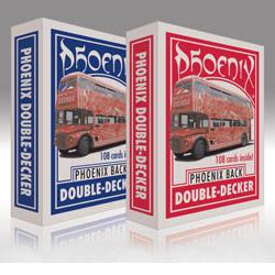 Phoenix Double Decker red + red Manipulationskarten