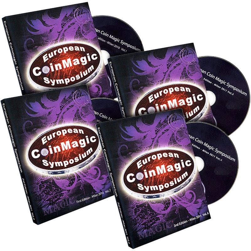 Coinmagic Symposium - Set of 4 DVD