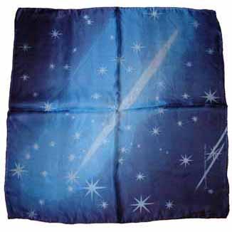 Seidentuch deluxe Sternenhimmel