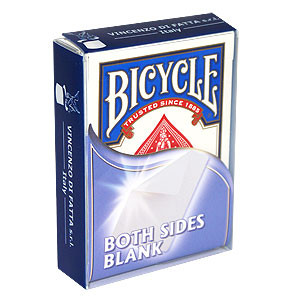 Bicycle Both Sides Blank