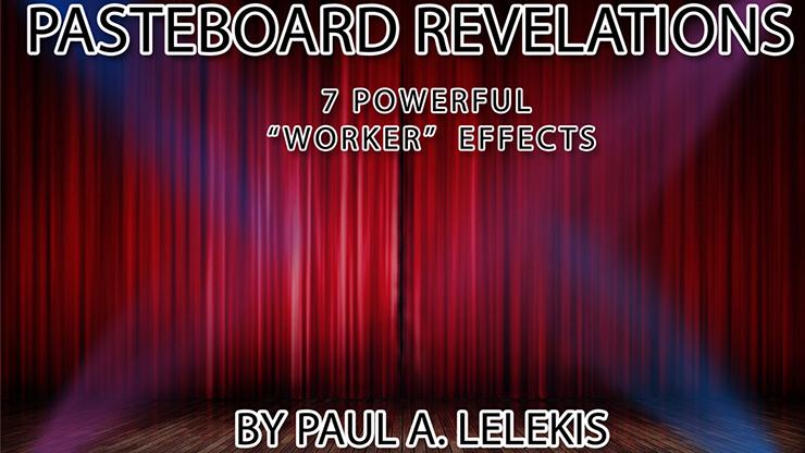 PASTEBOARD REVELATIONS  by Paul A. Lelekis mixed media DOWNLOAD
