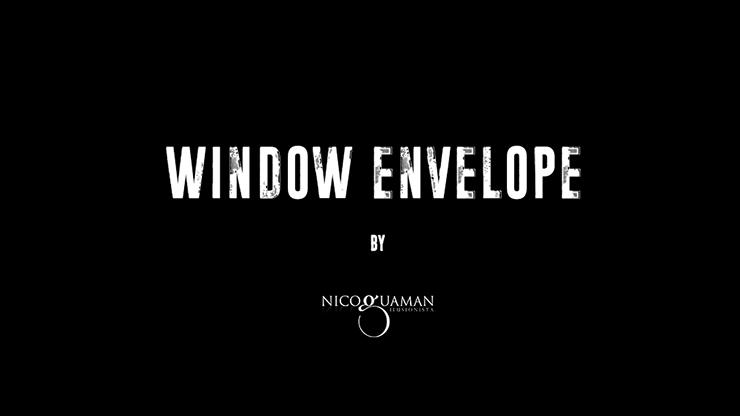 Window Envelope by Nico Guaman mixed media DOWNLOAD