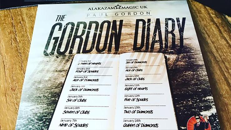 The Gordon Diary Trick Lite by Paul Gordon