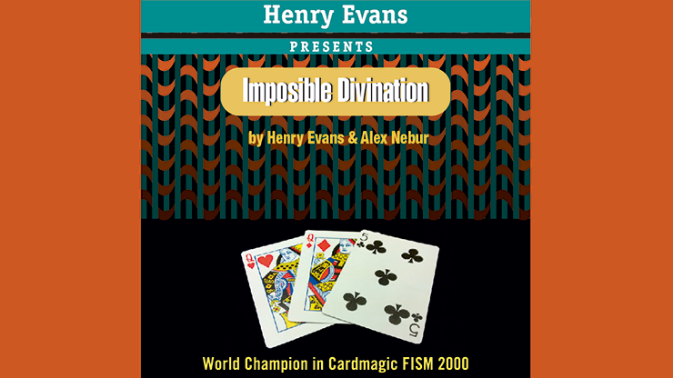 Imposible Divination (Gimmicks and DVD) by Henry Evans and Alex Nebur