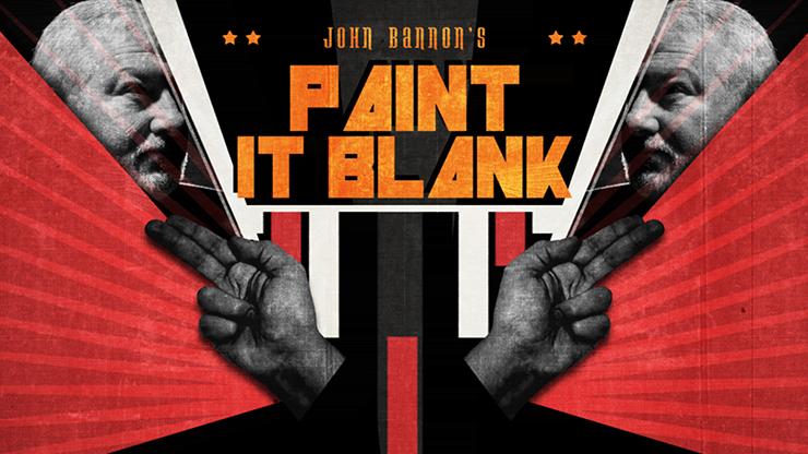 John Bannon's PAINT IT BLANK (Gimmicks and DVD)