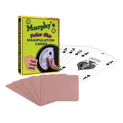 Manipulation Cards(POKER SIZE/ FLESH COLOR BACKS)by Trevor Duffy