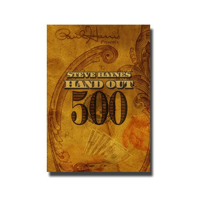 Hand Out 500 by Steve Haynes (DVD)