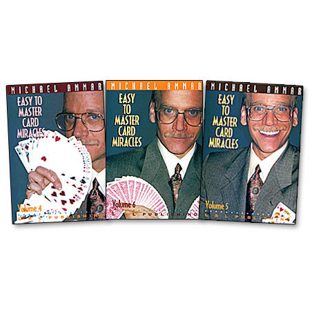 Easy to master card miracles by Michael Ammar Vol 4 (DVD)