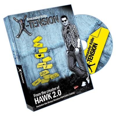 X-Tension (DVD and Gimmick) by Alex Kolle DVD