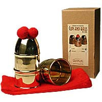 Becherspiel Deluxe Kupfer (Cups & Balls)