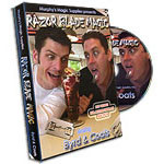 Razor Blade Magic  by Byrd and Coats (DVD)