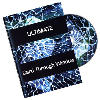 Ultimate Card Through Window  - Eric James (DVD)