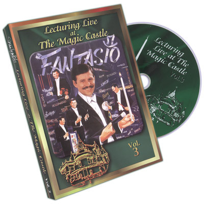 Fantasio Lecturing Live At The Magic Castle Vol. 3 (DVD)