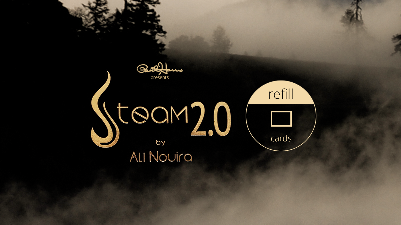 Paul Harris Presents Steam 2.0 Refill Cards (50 ct.) by Paul Harris