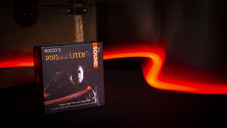 Rocco's Prisma Lites SOUND Pair (High Voltage/Red)