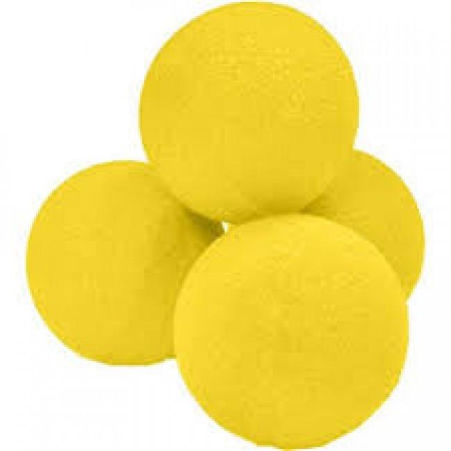 Schaumstoffbälle 4 cm - (Super Soft) gelb