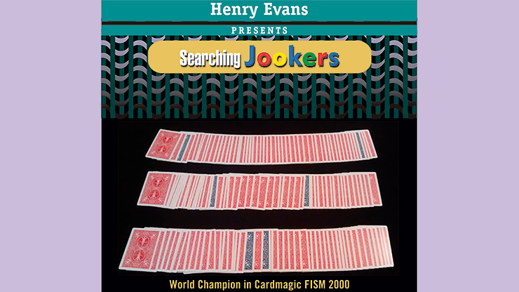 Searching Jookers (DVD and Red Gimmicks) by Henry Evans