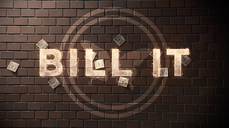 Bill It (DVD and Gimmick) by SansMinds Creative Lab - DVD