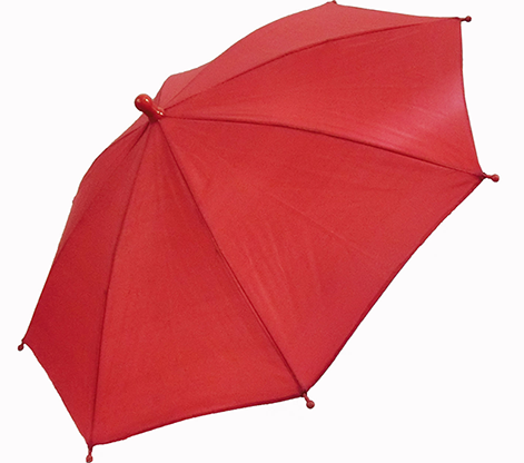Flash Parasols (Red) 4 piece set by MH Production / Sonnenschirm