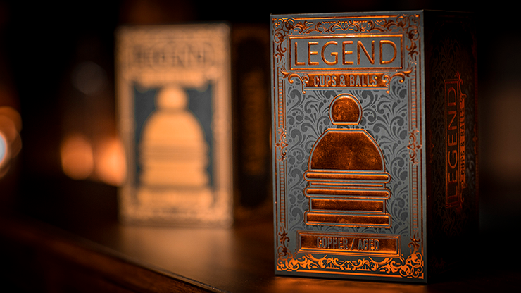 LEGEND Cups and Balls (Copper/Aged) by Murphy's Magic