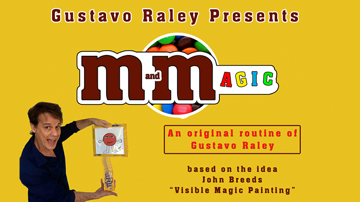 M and Magic (Gimmicks and Online Instructions) by Gustavo Raley