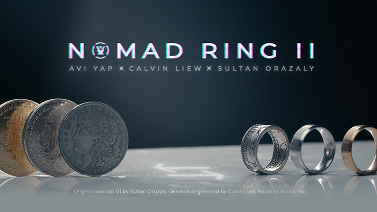 Skymember Presents: NOMAD RING Mark II (Bitcoin Gold) by Avi Yap, Calvin Liew and Sultan Orazaly