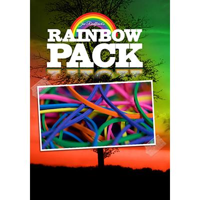 Joe Rindfleisch's Rainbow Rubber Bands (Rainbow Pack Size 19) by Joe Rindfleisch