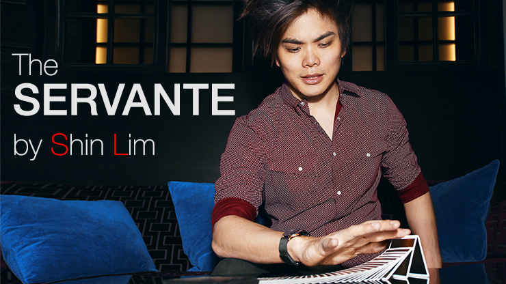 SERVANTE (Gimmicks and Online Instructions) by Shin Lim