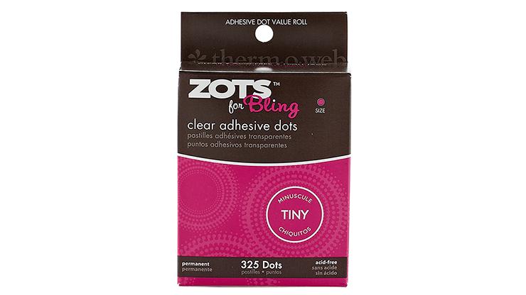 "Sticky Dots Tiny (1/8"" Diameter) Roll of 325"