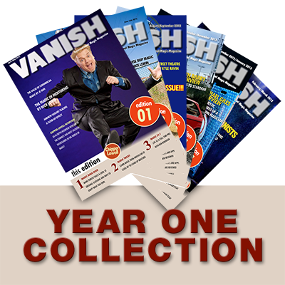 VANISH Magazine by Paul Romhany  (Year 1) eBook DOWNLOAD