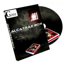 Alcatraz Box (Blaues Gimmick und DVD) by Mickael Chatelain