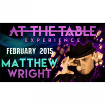 At the Table Live Lecture - Matthew Wright 2/04/2015 - video DOWNLOAD