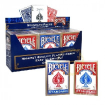 Bicycle Poker Deck - #808 Rider Back (rot)