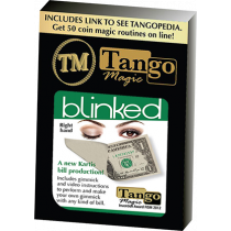 Tango Blinked Right Handed (Gimmick and Online Instructions) V0016 by Tango Magic