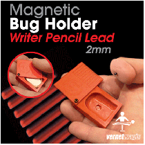 Magnetic BUG Holder (pencil lead 2 mm) by Vernet