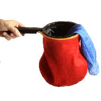 Change Bag Standard (Red) by Bazar de Magia - Changierbeutel 2-fach