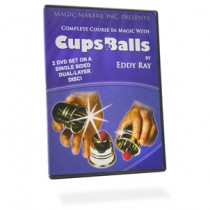 The Complete Course in Cups and Balls Magic 2 DVD - Set