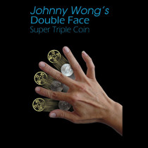 Double Face Super Triple Coin by Johnny Wong