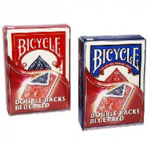 Bicycle deck - Double Back (red/blue)