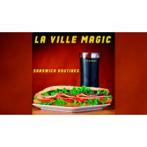 Sandwich Routines by Lars La Ville - La Ville Magic Mixed Media DOWNLOAD