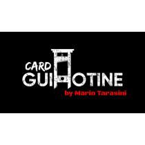 Card Guillotine by Mario Tarasini video DOWNLOAD