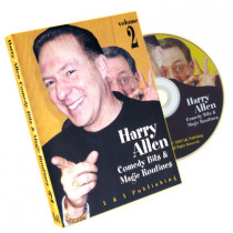 Harry Allen's Comedy Bits and Magic Routines Volume 2