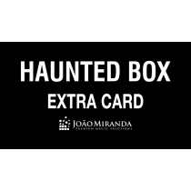 Haunted Box Extra Gimmicked Card (Red) by João Miranda Magic