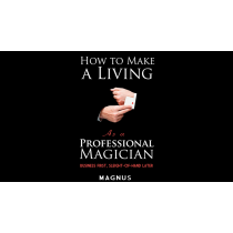 How To Make A Living as a Professional Magician by Magnus and Dover Publications - Book