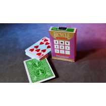 Invisible Deck Bicycle (Green)