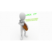 Lock It Blue (Gimmick and Online Instructions) by Al Bach